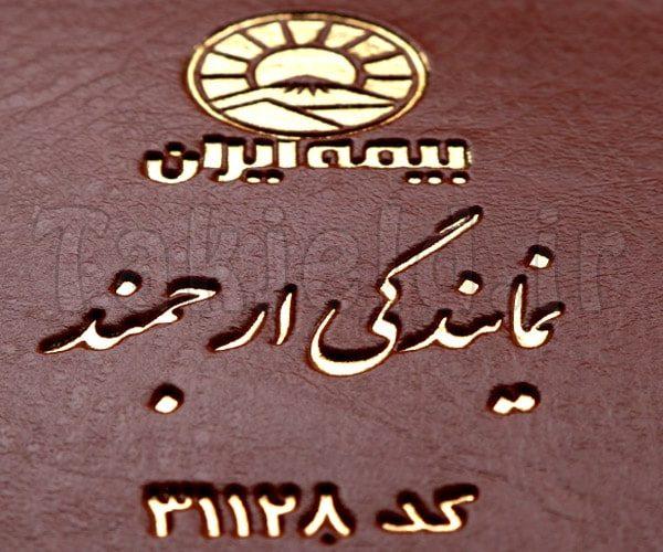 جلد بیمه نامه ثالث بیمه ایران